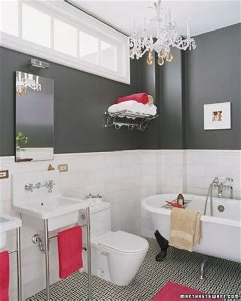gray and red bathroom ideas slate grey and hot pink bath bath ideas juxtapost
