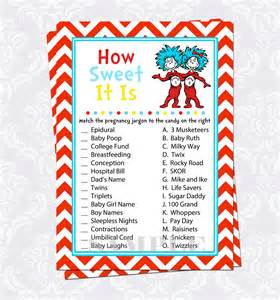 Thing 1 And Thing 2 Baby Shower by Thing 1 And Thing 2 How Sweet It Is Baby By