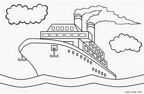 barcos para pintar on line desenhos de barco para colorir az dibujos para colorear