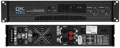 Power Lifier Qsc 4050 qsc rmx 4050 hd power