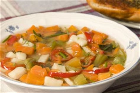 Weight Watchers Garden Vegetable Soup Recipe Cdkitchen Com Garden Vegetable Soup Weight Watchers