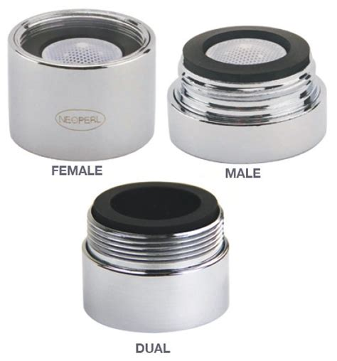 Low Flow Faucet Aerators by 0 35 Gpm Pca Aerator Vandal Proof 15 16x27