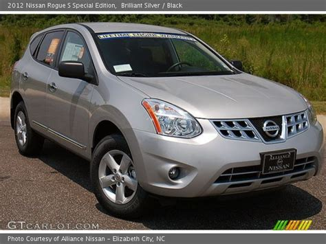 silver nissan rogue 2012 brilliant silver 2012 nissan rogue s special edition