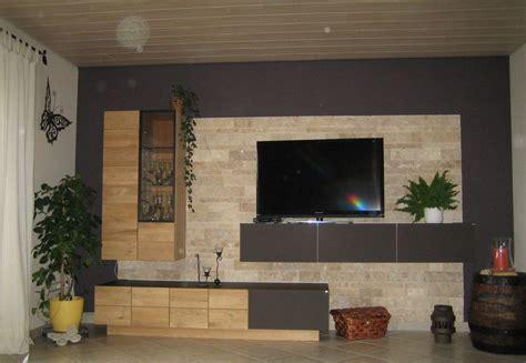 wand mit steinen wohnzimmer 180 s testparcour