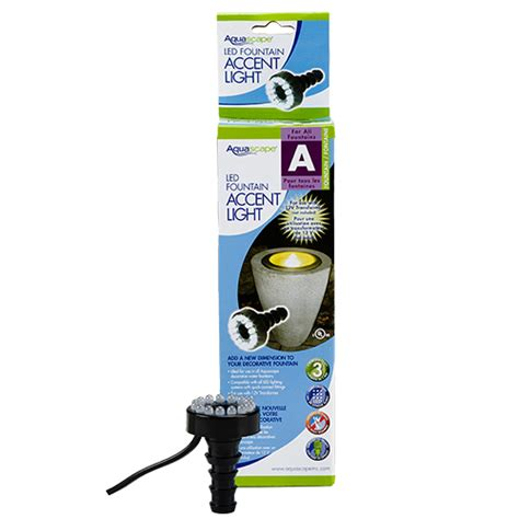 aquascape lights aquascape led fountain accent light 12 volt w out