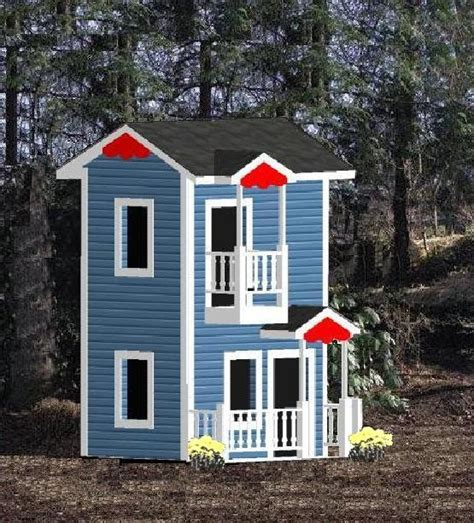 kids play house plans free home plans kids playhouses plans
