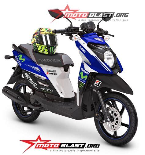 Baju Yamaha X Ride kini yamaha x ride sudah ada livery movistar motogp by motoblast motoblast