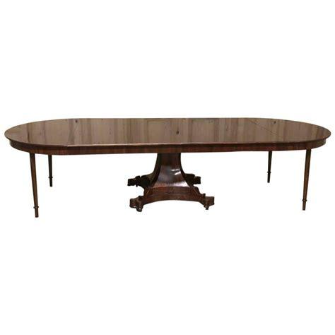 19th century regency mahogany banquet pedestal