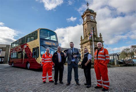 transdev unveils centenary bus  commemorate ribble  transport designed