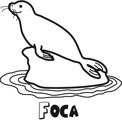 colorea tus dibujos dibujos de caricaturas colorea tus dibujos dibujo de foca para colorear