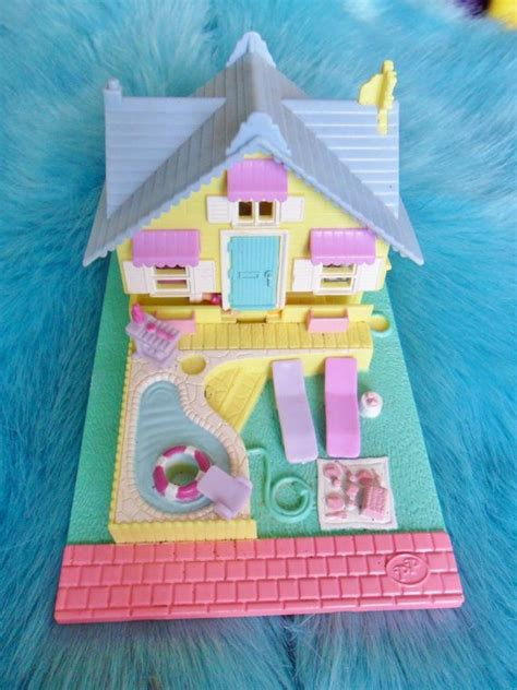 polly pocket house vintage retro 1993 80s 90s pastel polly pocket summer