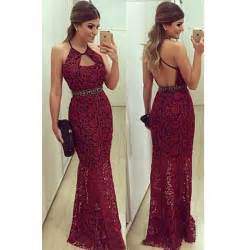 long prom dress burgundy prom dress lace prom dress