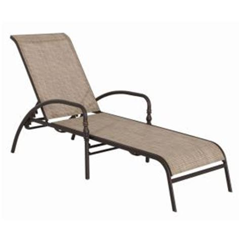 Hton Bay Andrews Patio Chaise Lounge Fls67028 The