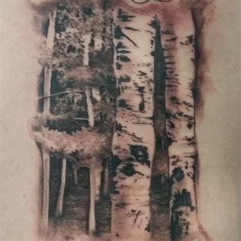 tattoo removal michigan up of some birch trees i did birchtree treetattoo