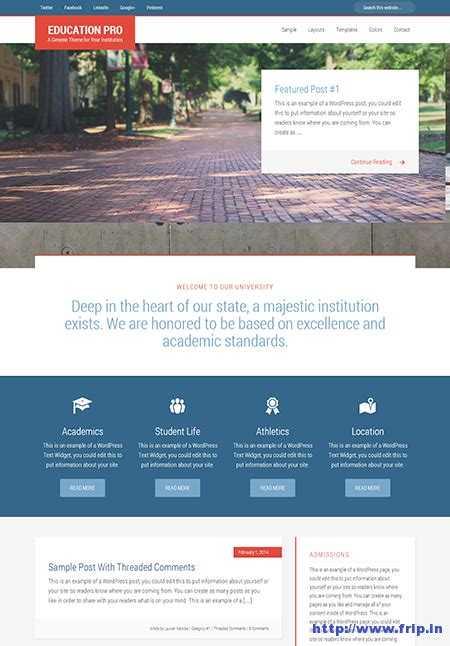 theme education pro 25 new amazing wordpress themes launched in july 2014