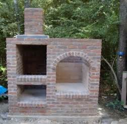 How To Dig A Fire Pit In Your Backyard by Brick Bbq Pit Smoker Designs
