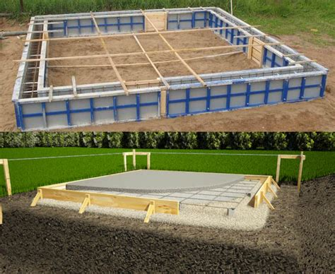 how to build a basement foundation how to build a concrete foundation and make it durable