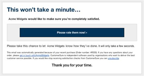 customer satisfaction survey email template feedback request queue
