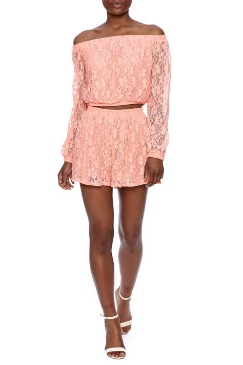minkpink blush skirt from by cotone shoptiques