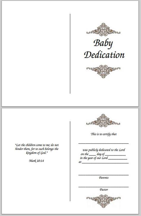 baby dedication certificates templates free baby dedication certificate
