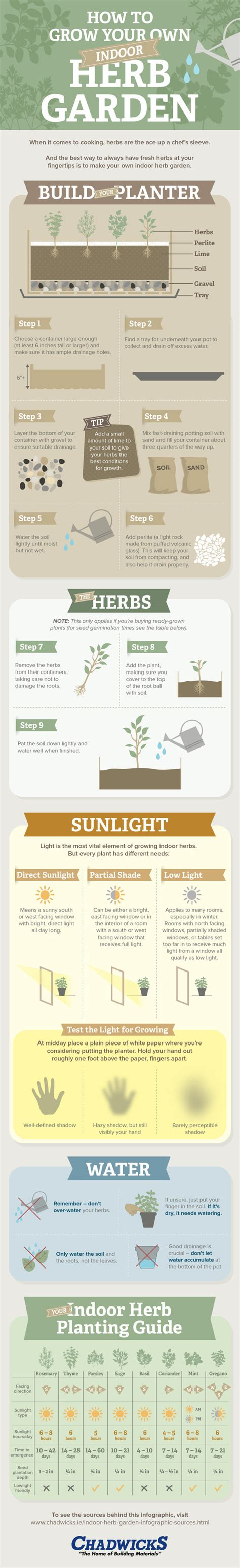 how to grow herbs indoors 6 house plant infographics that will help you develop a green thumb find projects to