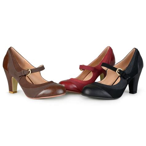 Two Tone Pumps brinley co womens tweed two tone pumps ebay