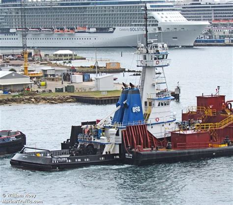 ship particular as columbia vessel details for osg columbia tug imo 8024727 mmsi