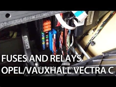 Vectra Diesel Starter Relay Where Is It