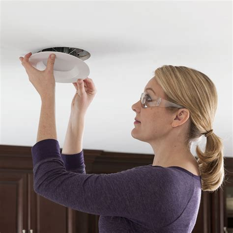 installing lights install recessed lighting
