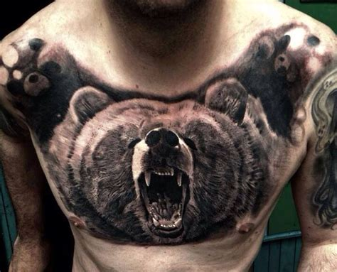 tattoo gallery best bear roar tattoos pinterest bears and ink
