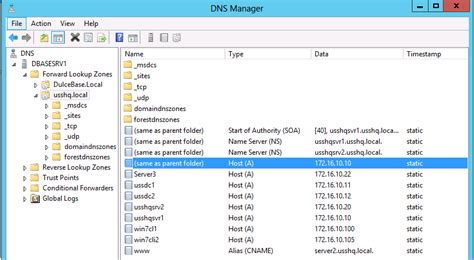 Dns Lookup Windows How To Configure A Dns Stub Zone In Windows Server