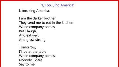 I Sing America Analysis Essay by Essay On I Sing America