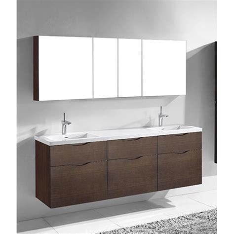 Madeli Bathroom Vanity Madeli Bolano 72 Quot Bathroom Vanity For Integrated Basin Walnut Free Shipping Modern