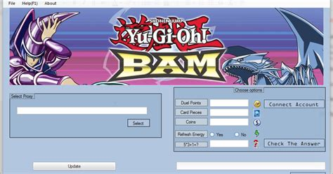 yu gi oh bam hack all unlimited combo hack