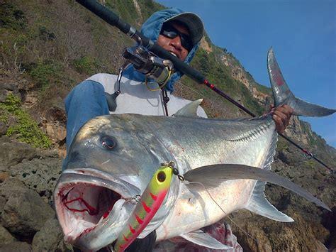 Pelung Untuk Mancing Ikan Baronang ingin tingkatkan peluang strike di lautan gunakan sinking stickbait spot mancing