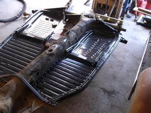 thesamba gallery 1959 vw ragtop floor pan replacement