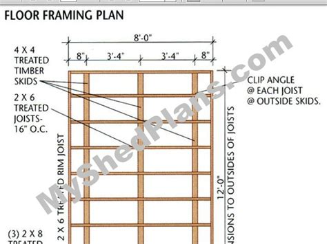 shed floor plans free building plans for a 10x20 storage shed anakshed