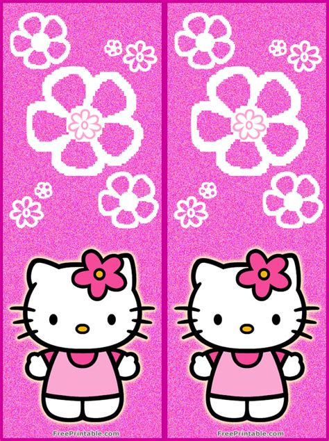printable bookmarks hello kitty hello kitty printable bookmarks quotes