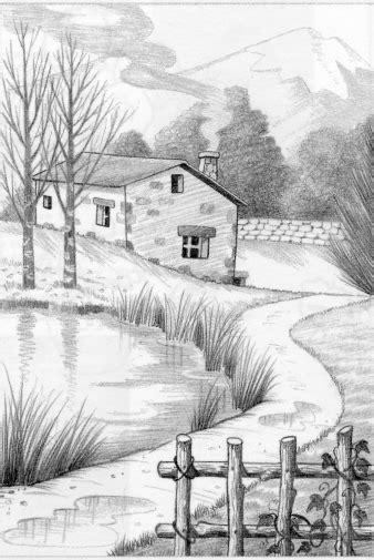 imagenes para dibujar a lapiz de paisajes dibujos a l 225 piz de paisajes dibujos a lapiz