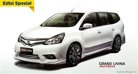Bodykit Mobil Nissan Grand Livina Autech new nissan grand livina highway autech akan meluncur