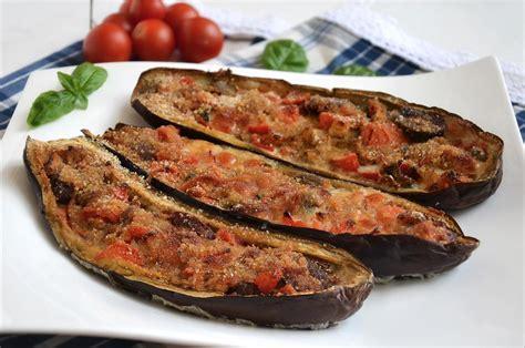 melanzane in cucina 187 melanzane a barchetta ricetta melanzane a barchetta di