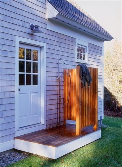simple outdoor shower simple outdoor shower can be installed simply for less