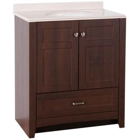 St Paul Bathroom Vanity by St Paul Highland 30 In Vanity In Truffle With Colorpoint