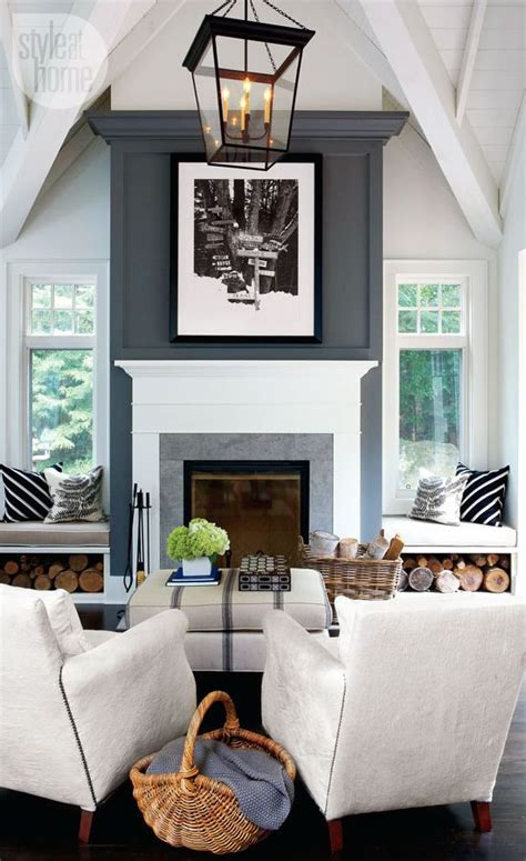 rustic grey living room interior rustic contemporary cottage fireplaces grey and fireplace wall