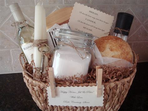 house gifts traditional house warming gift basket by house of hubbard