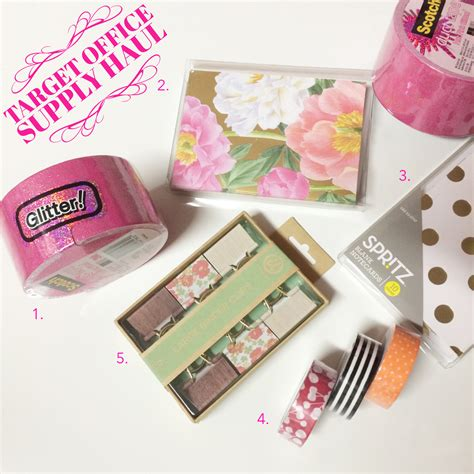 pretty things target office supplies haul 187 169 the