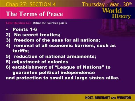 world history chapter 29 section 1 world war 1 chapter 27 slides