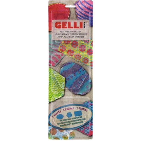 Gel Set by Gelli Arts Gel Druckplatten Set Im K 252 Nstlershop