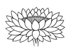 Lotus Buddhist Symbol Buddhist Artwork Line Lotus Symbol 4