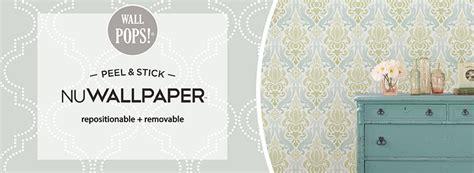 self stick wallpaper nuwallpaper peel and stick wallpaper wallpops